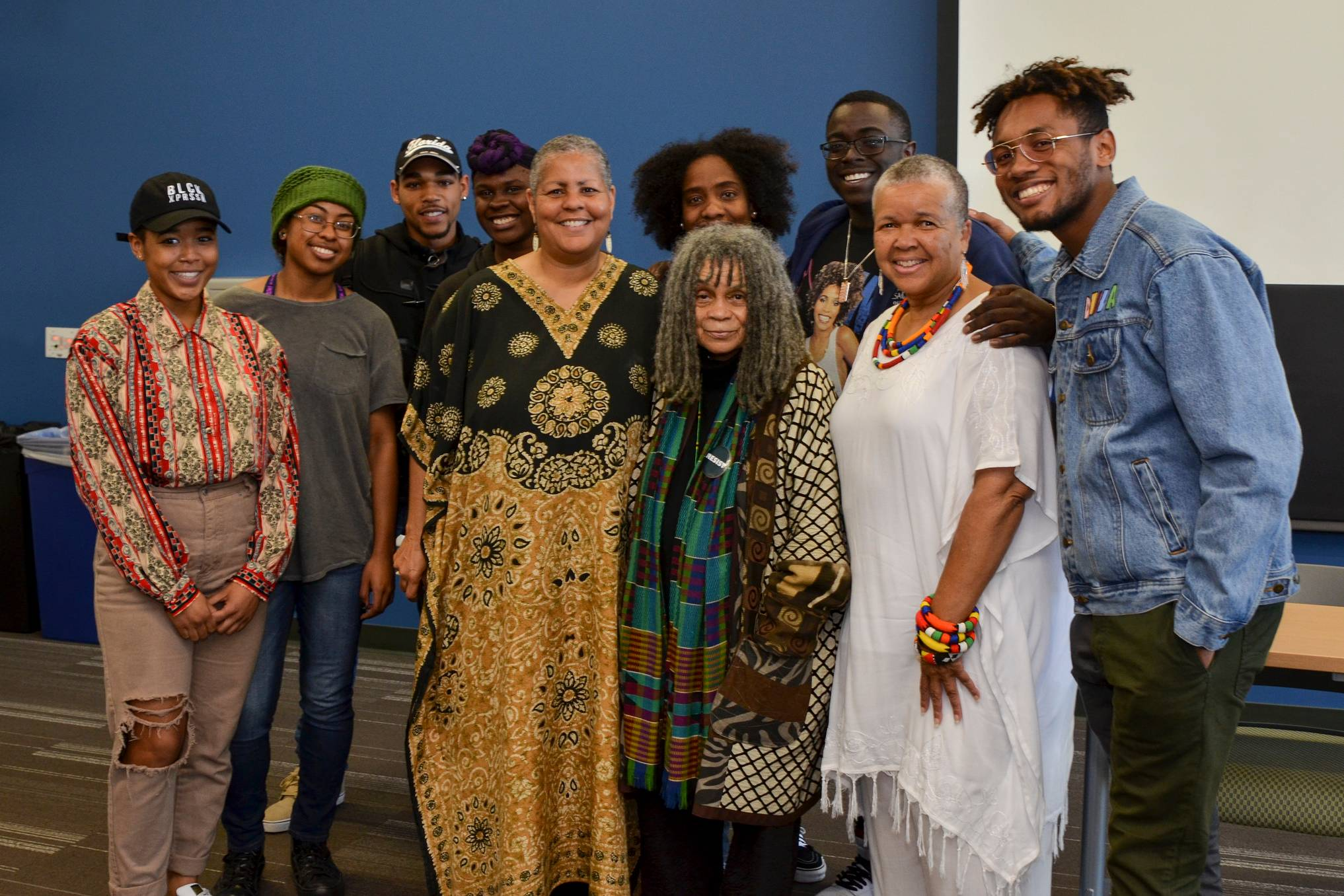 African American poet, professor and activist Dr. Sonia Sanchez spoke to a full room at San Diego Mesa College on Feb. 23 in honor of Black History Month.