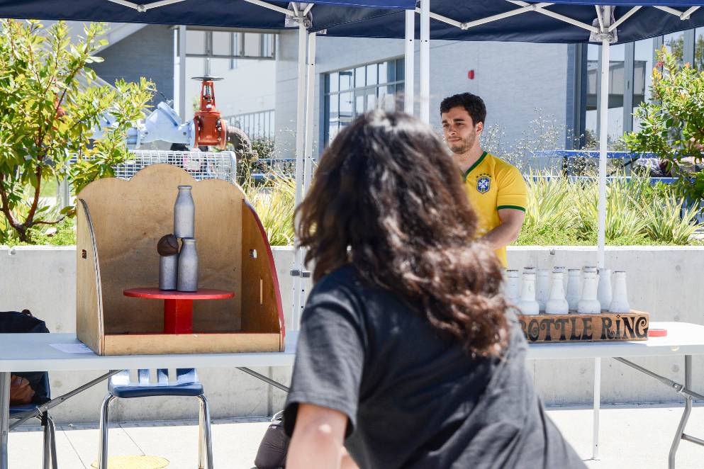 Associated Students at San Diego Mesa College held their AS Carnival on Thursday, April 20 between the Mesa Commons and Exercise Science buildings.