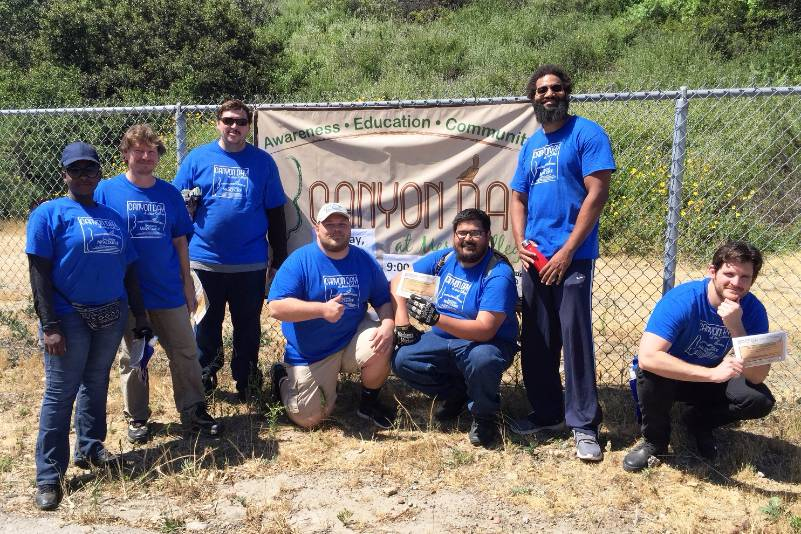 San Diego Mesa College Canyon Day 2017, held on Saturday April 22, was a huge success even though there were multiple other events occurring which coincided with Earth Day.