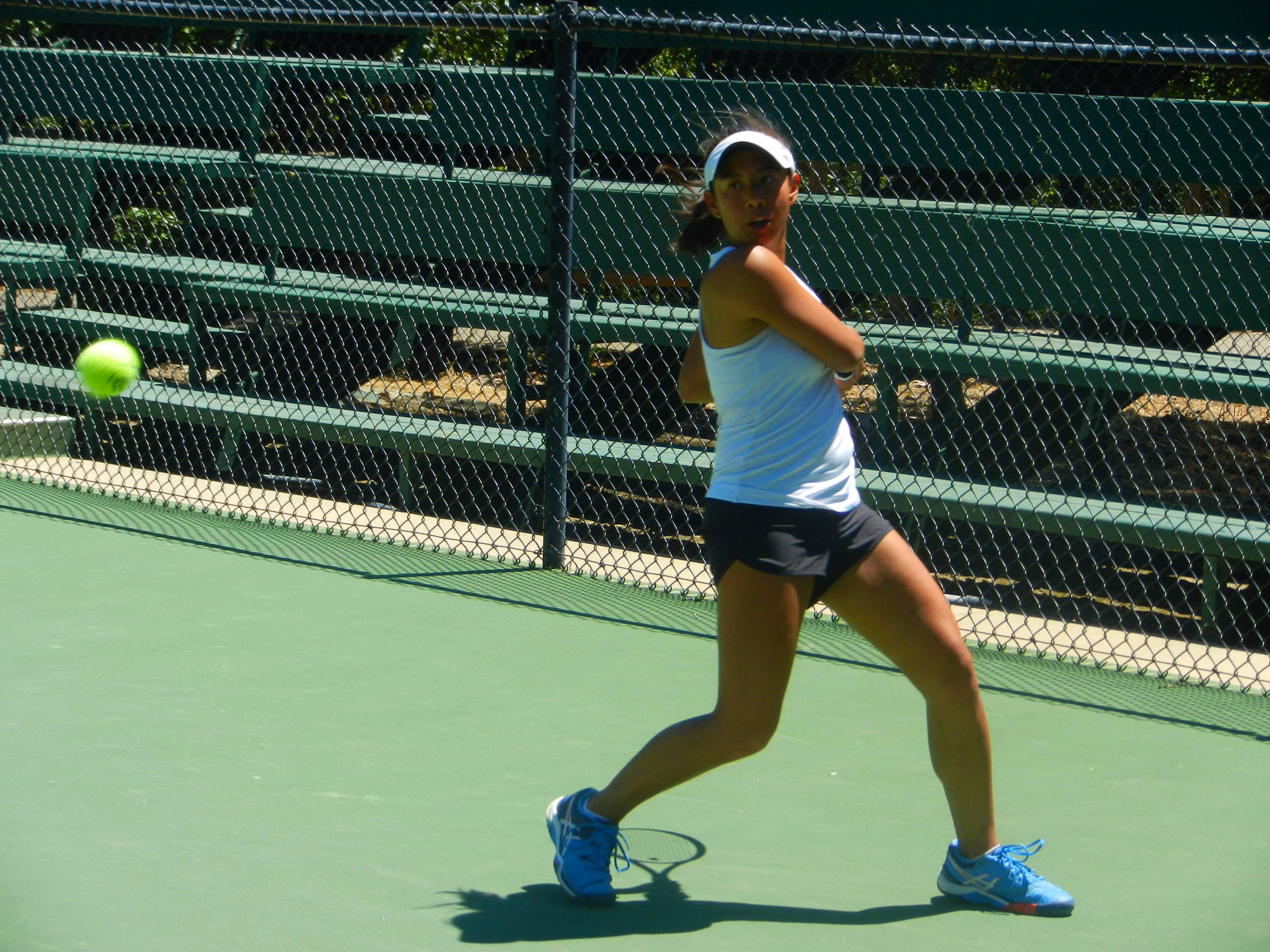 It has been 12 years since a women's tennis player in the California Community College Athletic Association has won back-to-back Singles State Championships, but San Diego Mesa College sophomore Danielle Garrido did just that.