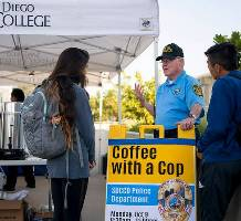 SDCCD Police Coffee with a Cop