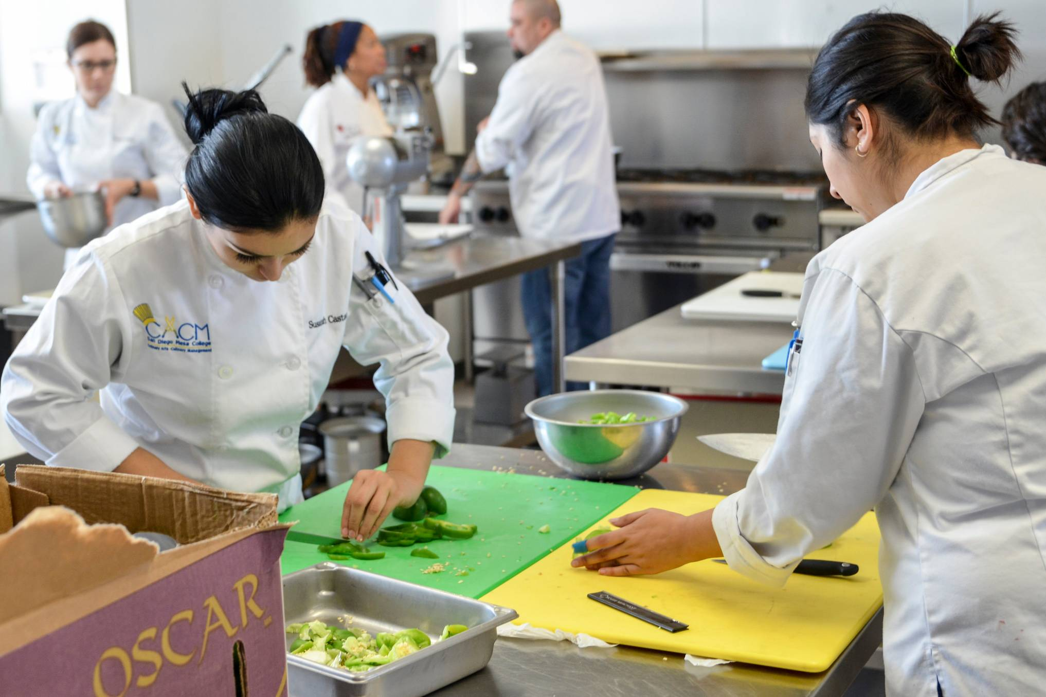 San Diego Mesa College's Culinary Arts/Management students, faculty and alumni will celebrate their new home in the Culinary Outlook at Mesa Commons with a an exciting fundraiser on Thursday, April 6 from 5:30 to 8:30 p.m.