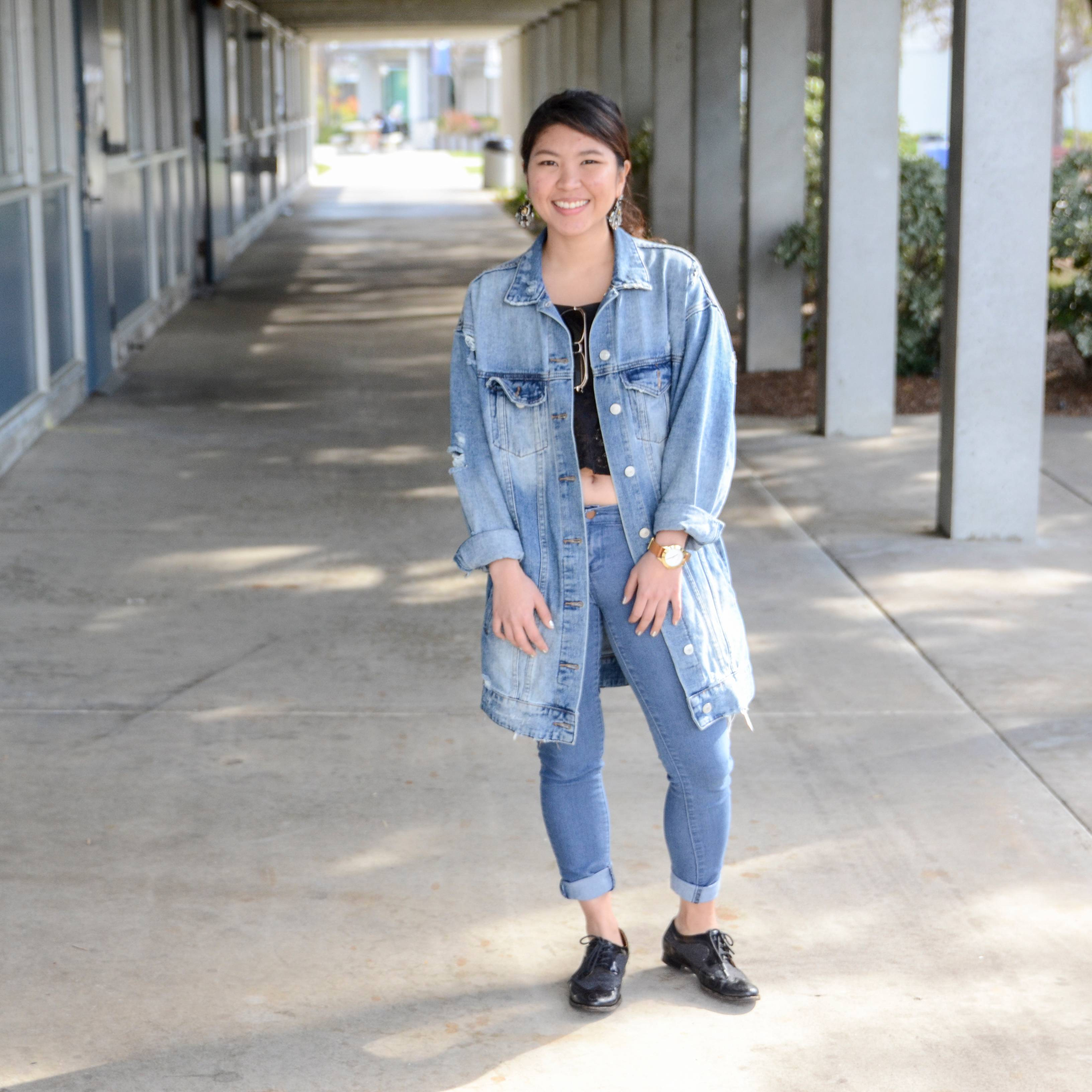 "Fashion Design major Phitsinee ""Fern"" Jirathamrongkarn – an international student from Thailand – hopes to work in New York City after graduating from Mesa College to intern in fashion before returning home to Thailand."