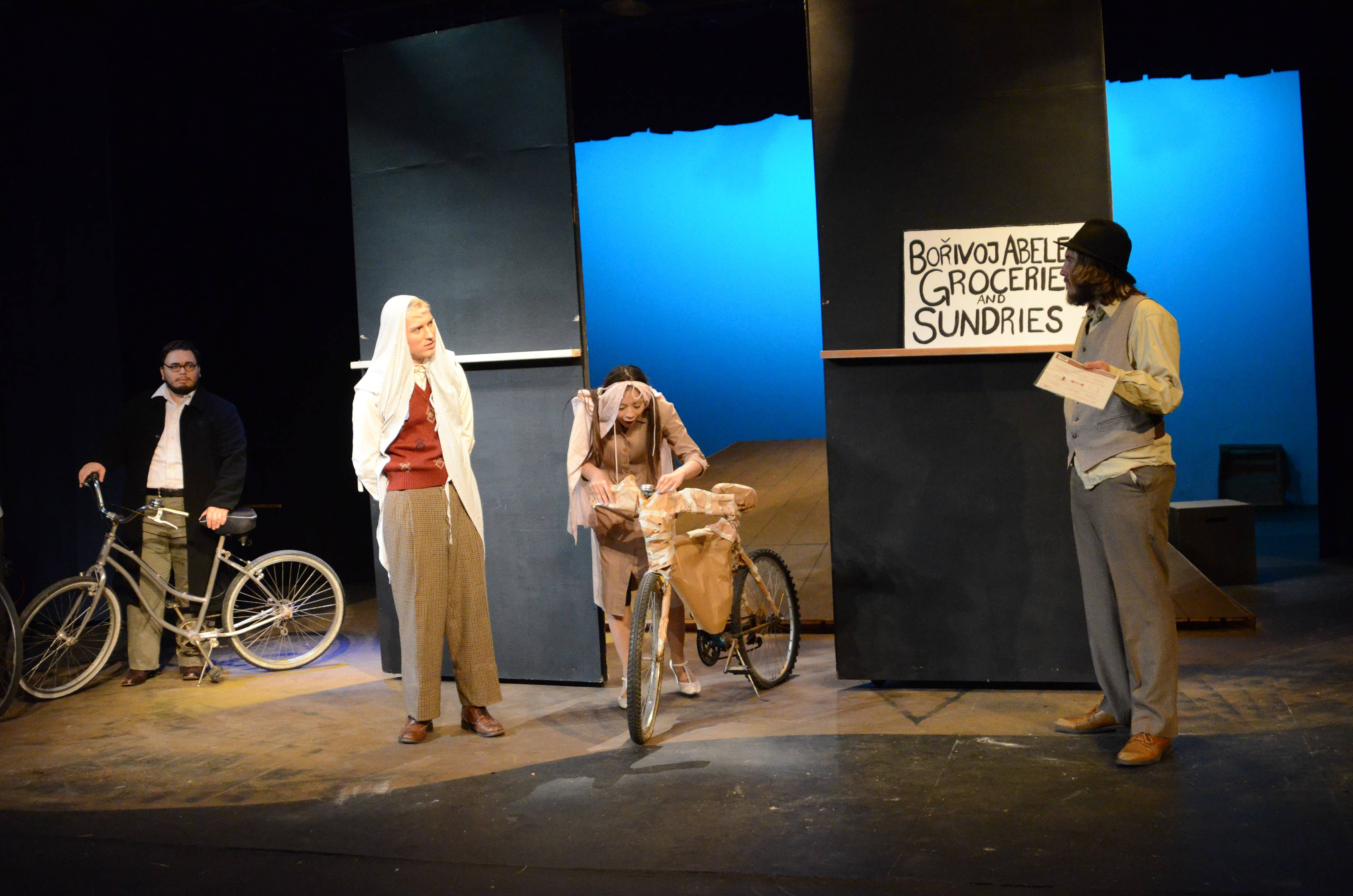 "Students from San Diego Mesa College's Department of Dramatic Arts will be performing Karel Švenk's ""The Last Cyclist"" for a second – and closing – weekend starting March 17."
