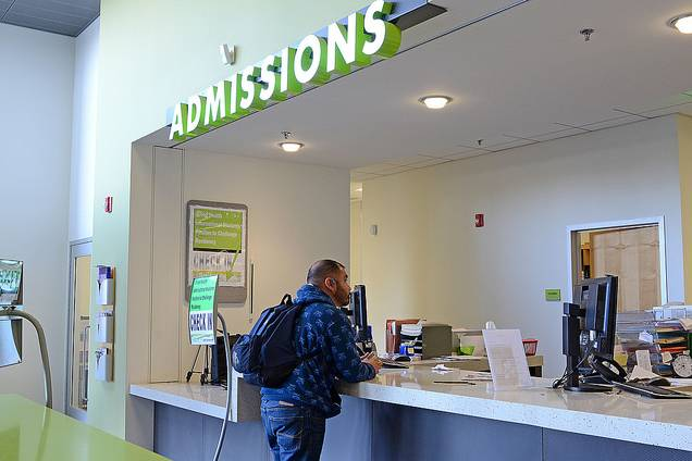 Student Services Center: Admissions