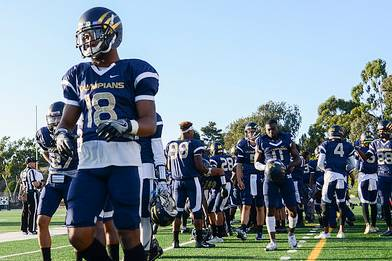 San Diego Mesa College Olympians Football Currently Ranked #1