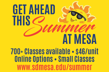 Mesa Offering Over 700 Classes During Summer Session