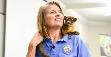 Mesa STEM Lecture Series Featured Animal Conservation Organization Wild Wonders