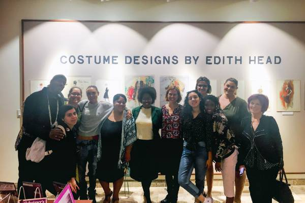 Mesa Fashion Students Visit Coronado Public Library