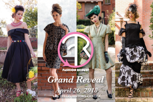 fashion redux grand reveal postcard