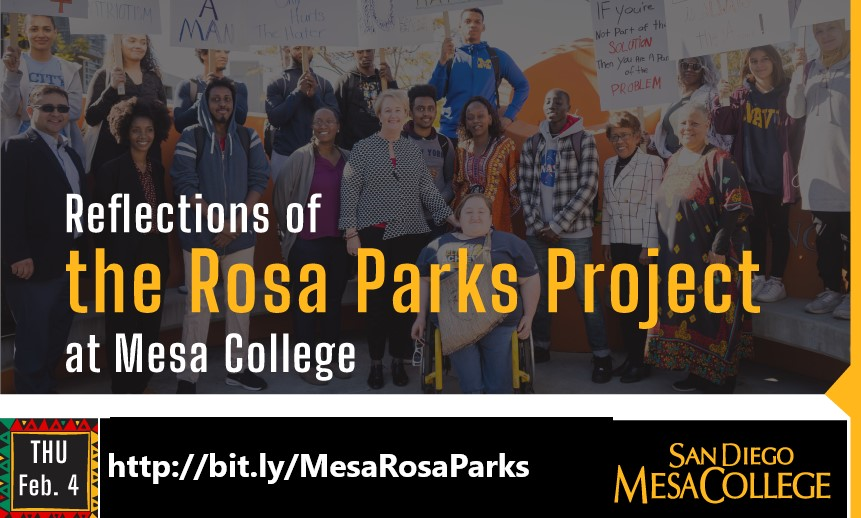 Mesa College Celebrates Black History Month with Rosa Parks Reflections Video