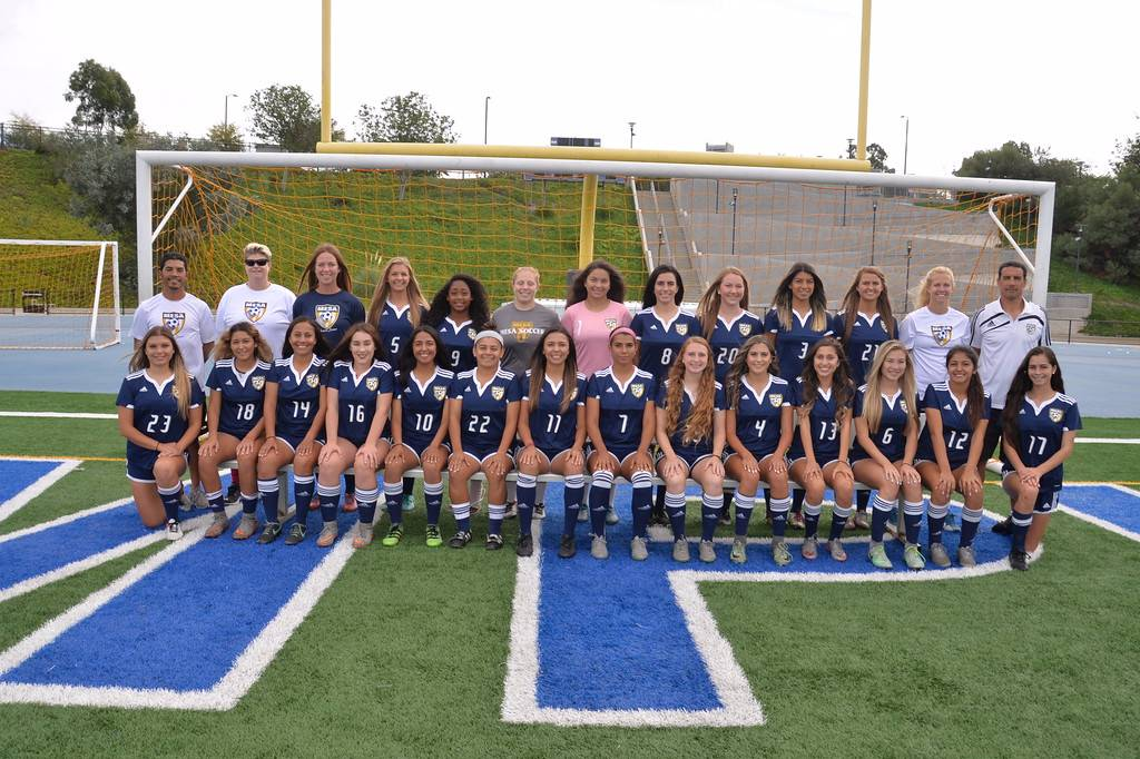San Diego Mesa College's women's soccer team has become the Pacific Coast Athletic Conference Southern Division Champion for the fourth season in a row.