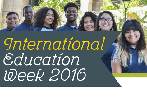 Three days of fun activities will take place as part of the International Education Week at San Diego Mesa College on Nov. 15-17.