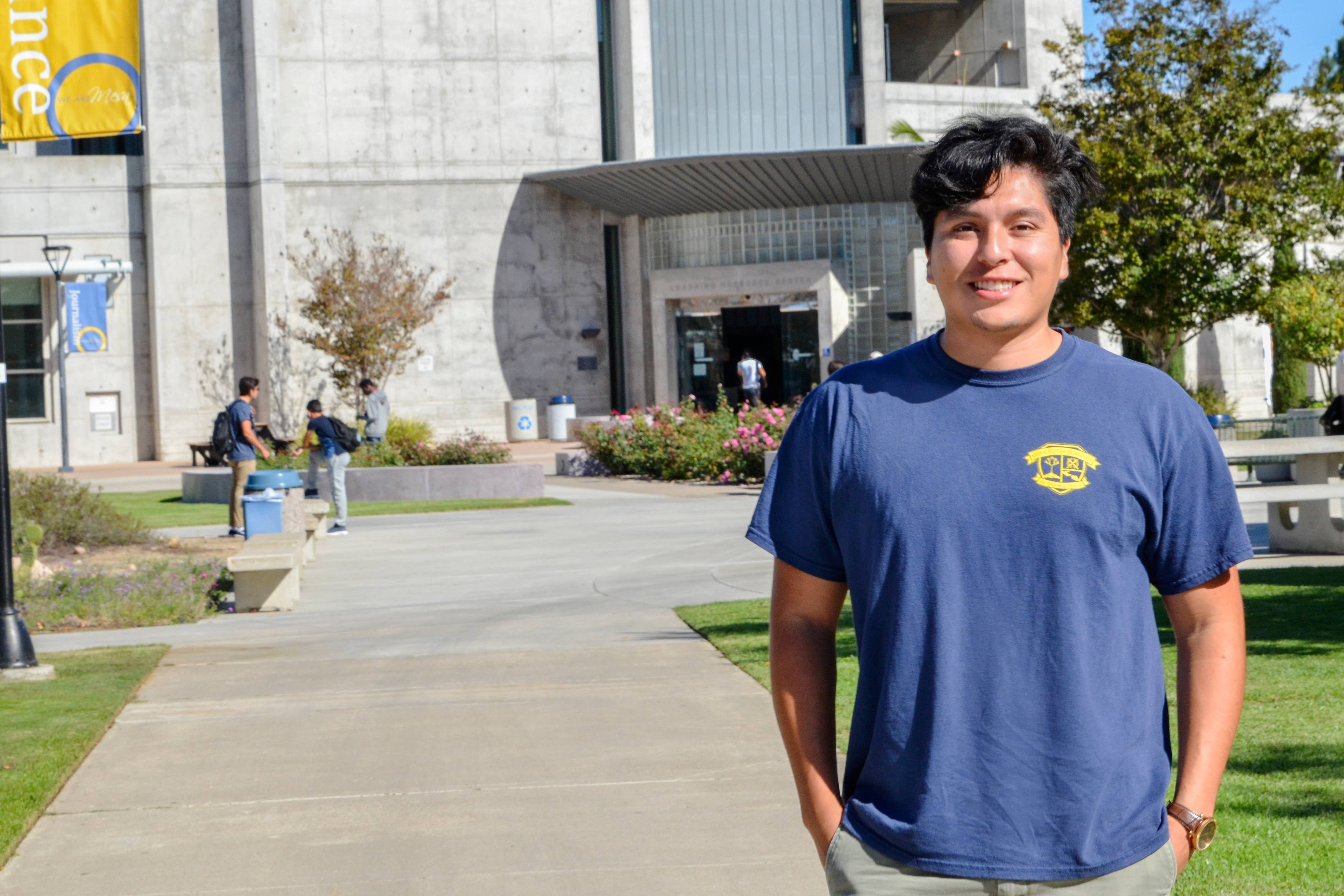 After four years of service in the United States Marine Corps, Bakersfield native Freddy Cervantes began to pursue his college degree at San Diego Mesa College in 2014.