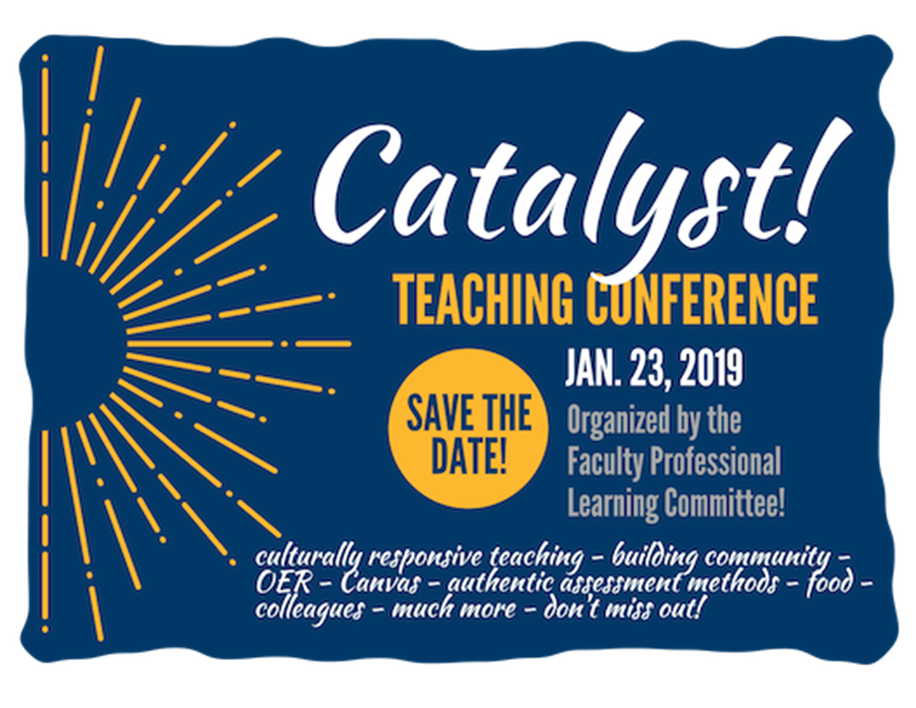 The Catalyst Calendar.Catalyst Teaching Conference San Diego Mesa College Calendar