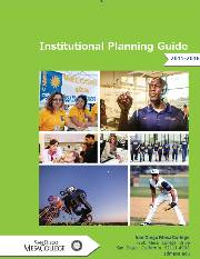 2015-16 Institutional Planning Manual