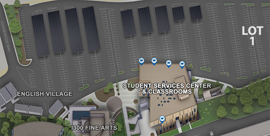 map with student services