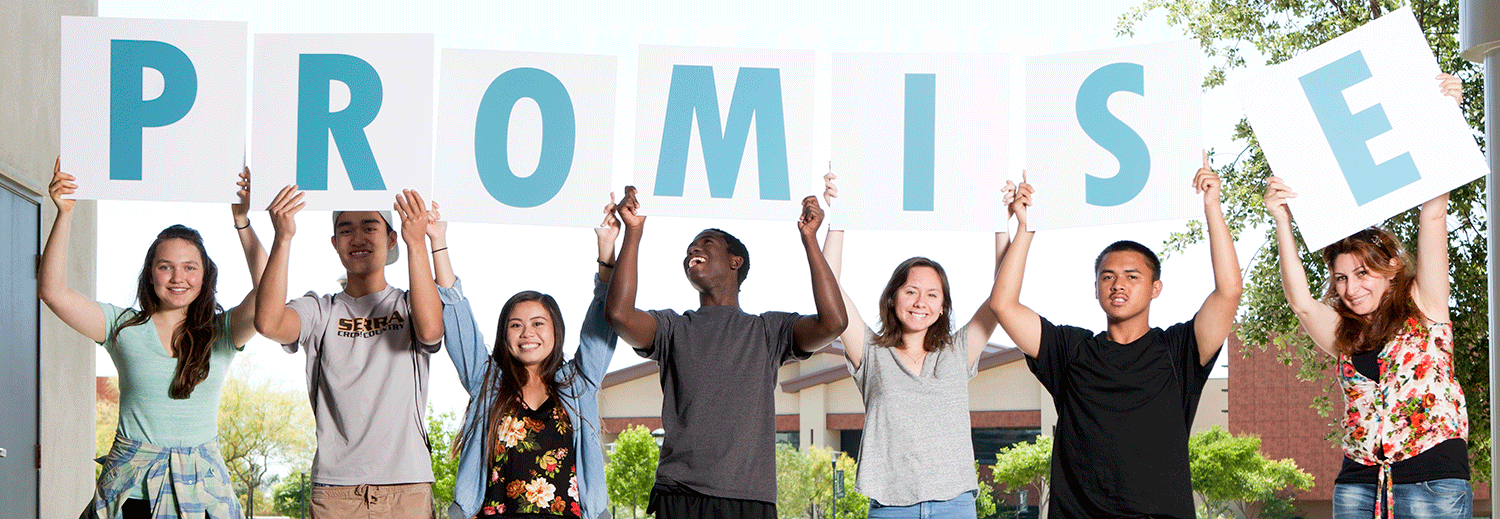 Promise students header image