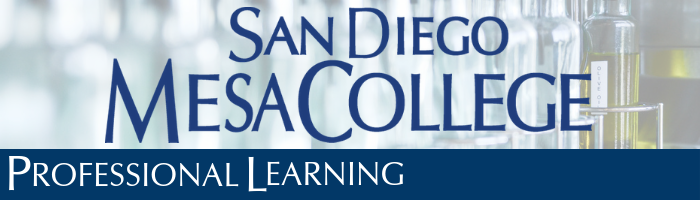 Professional Development San Diego Mesa College