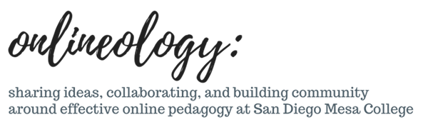 Onlineology: sharing ideas around online teaching