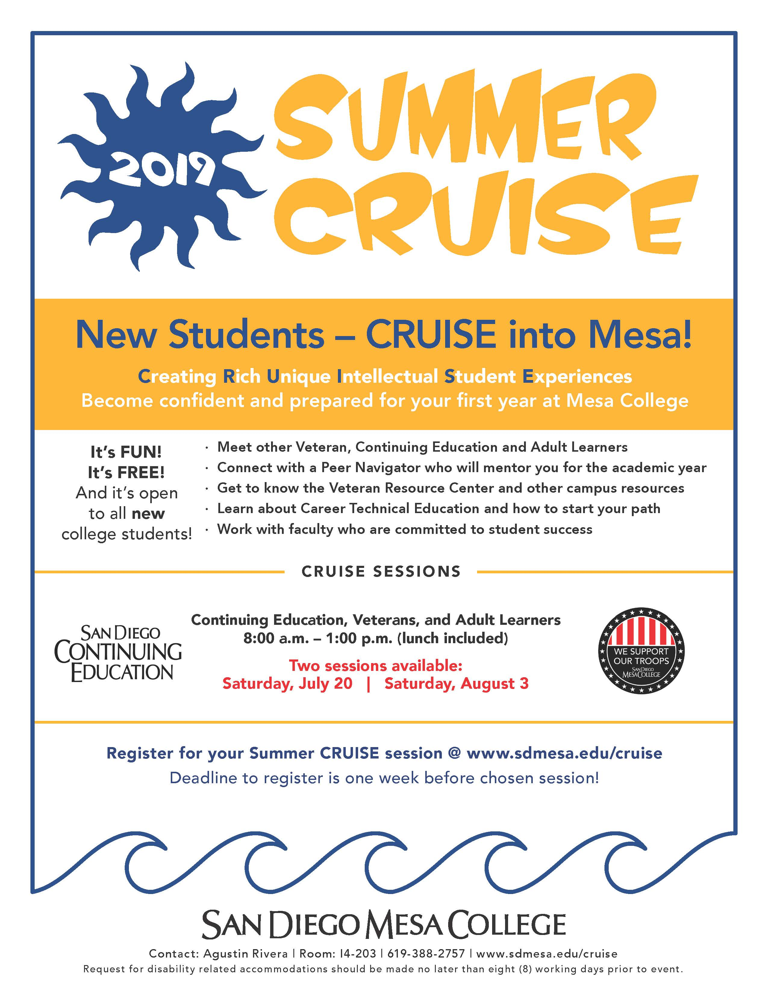 2019 Summer CRUISE Flyer_CE_Vets