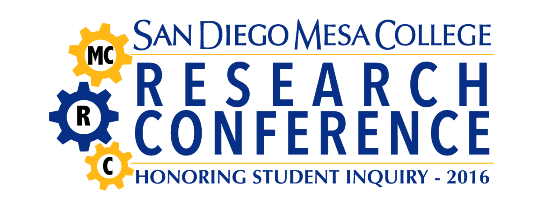 Mesa College Research Conference 2016 - San Diego Mesa College