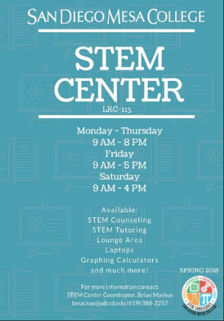 STEM Center Hours