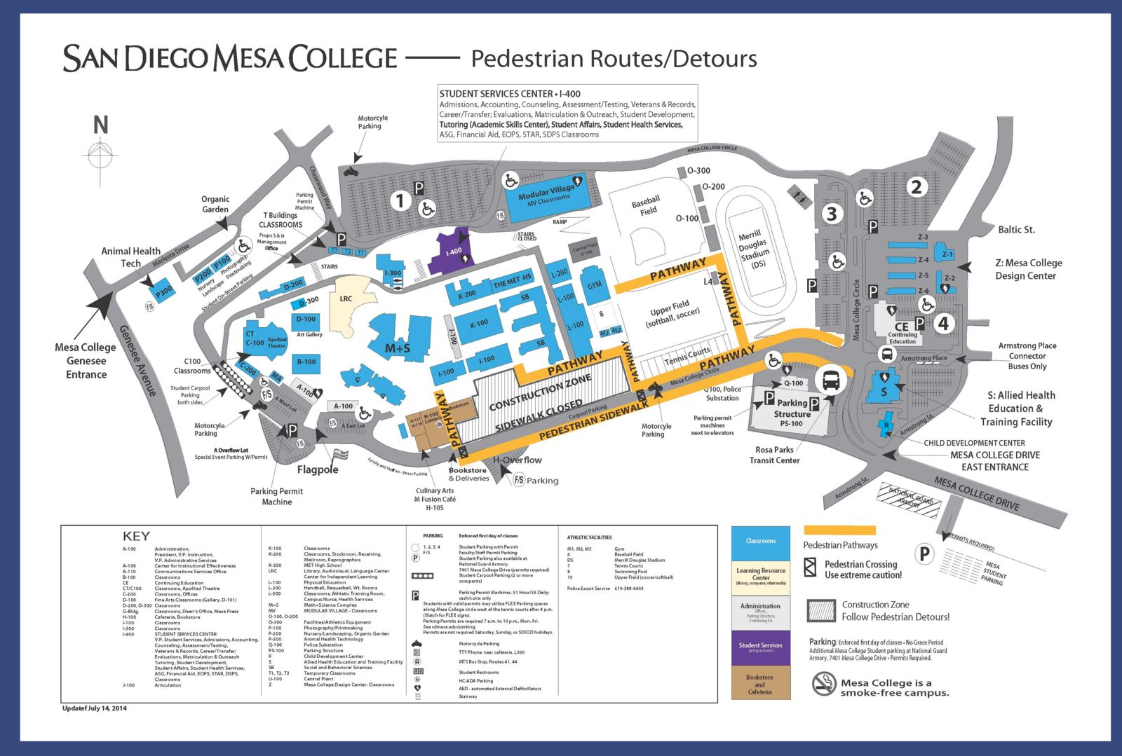 Mesa College Campus Map Mesa Campus Map | World Map Interactive
