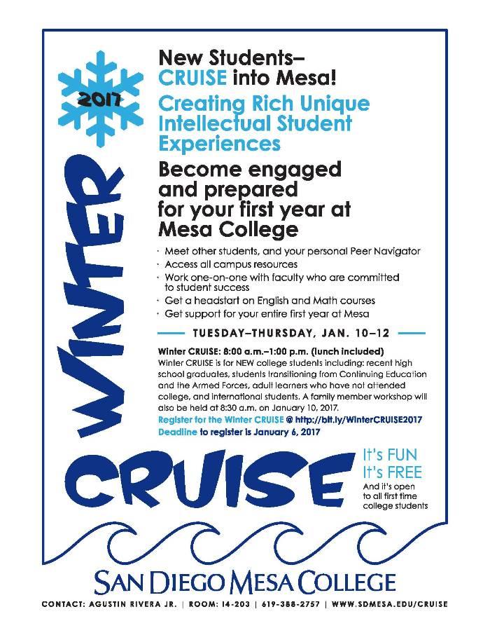 Deadline to register for cruise
