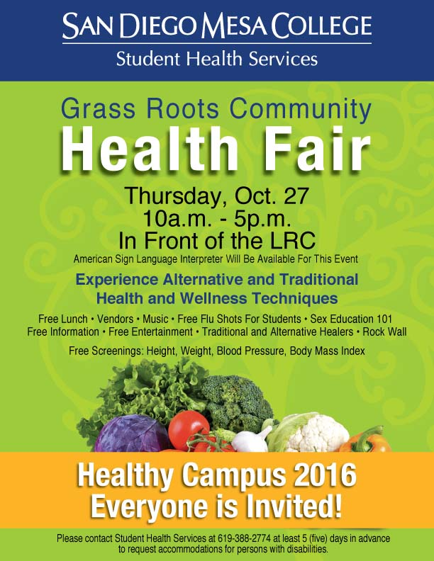 Grass Roots Community - Health Fair
