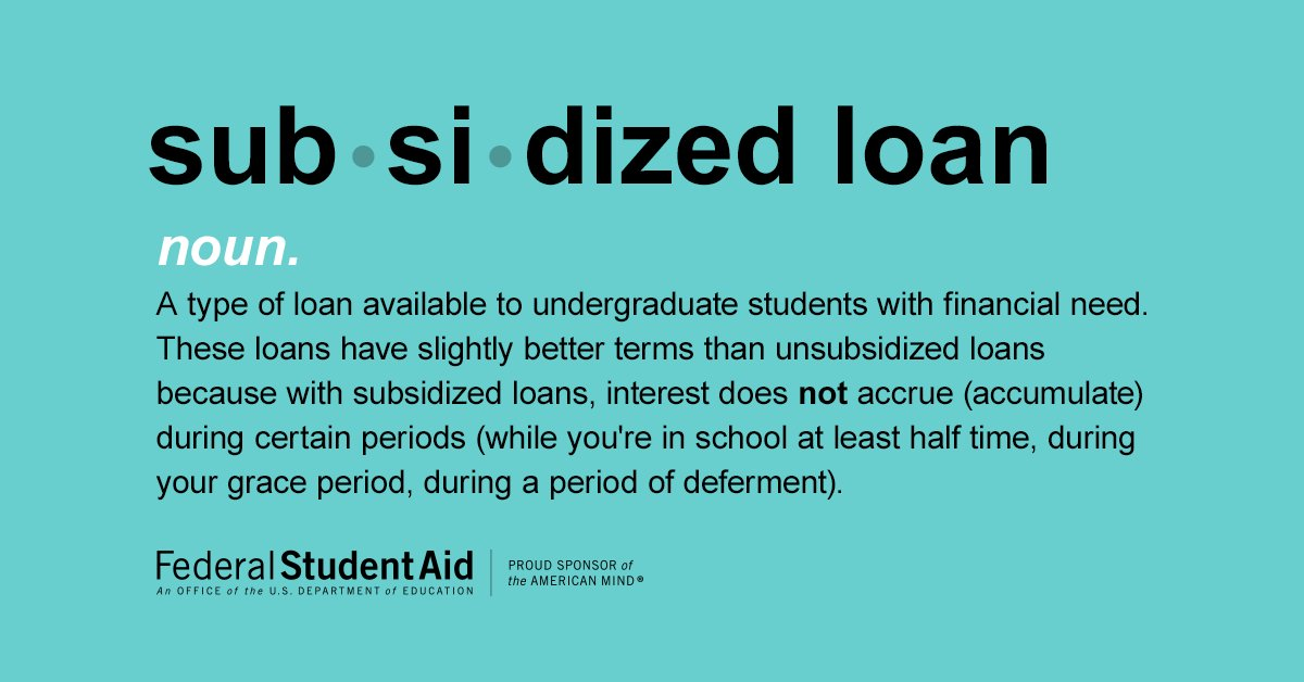 Federal Direct Subsidized Loan