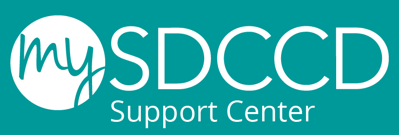 sdccd support center