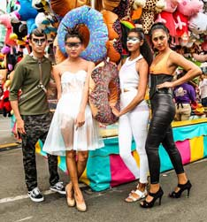Mesa College Student Fashions Showcased at the San Diego Fair