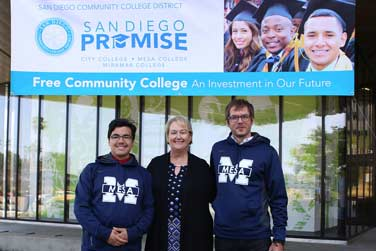 Free SDCCD community college pilot program launches!