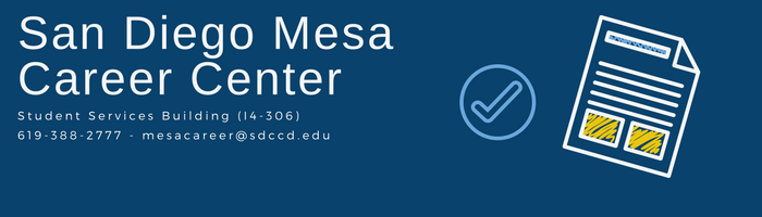 career center san diego mesa college