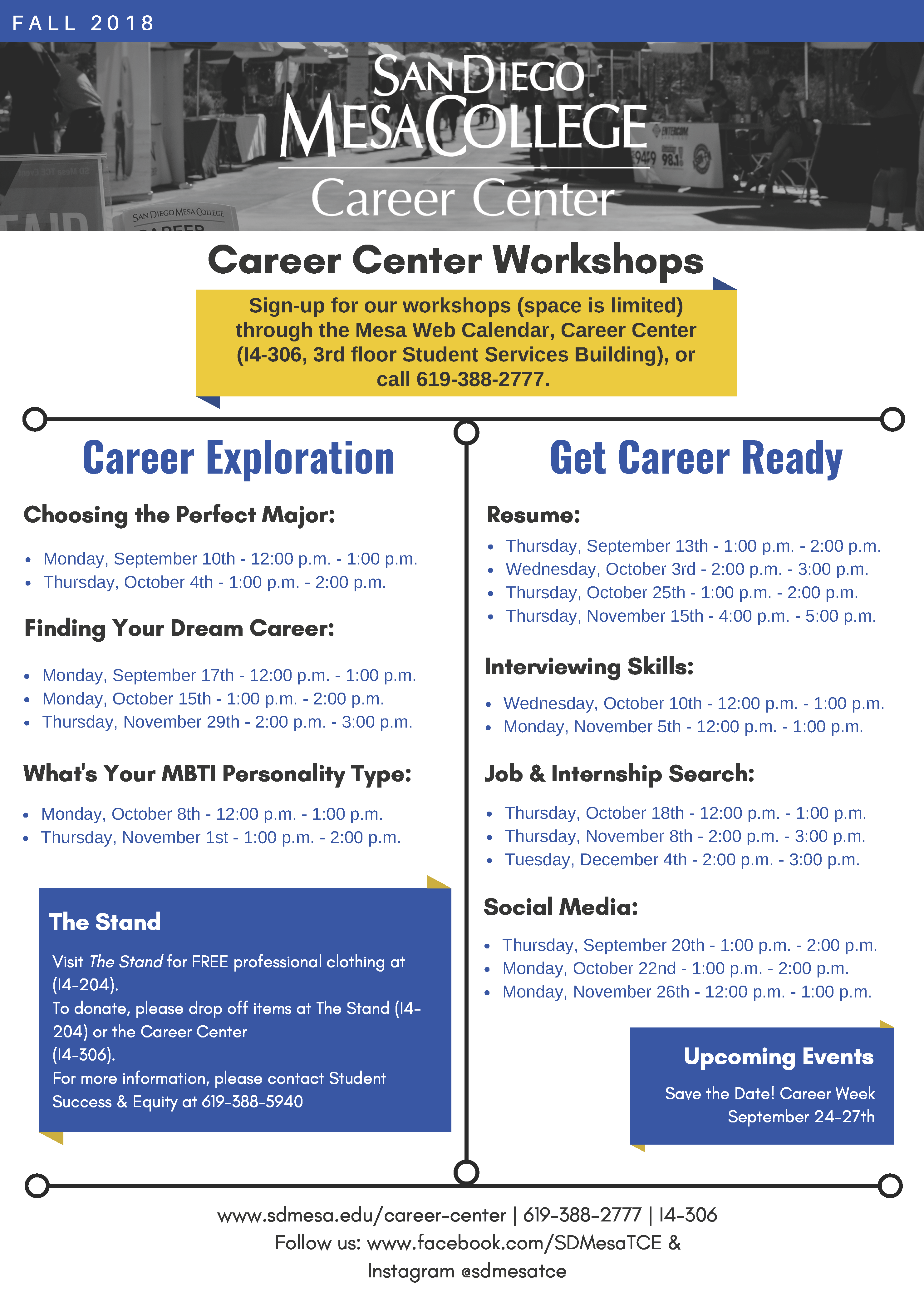 Career Center Events