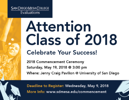 Commencement 2018 Web Ad