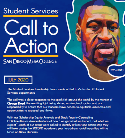 Student Services Call to Action Goals