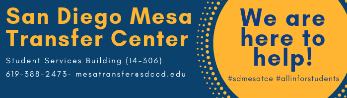 San Diego Mesa College Transfer Center