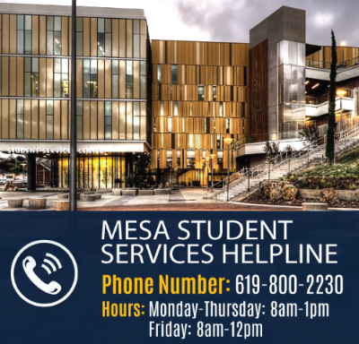 Student Services Hotline