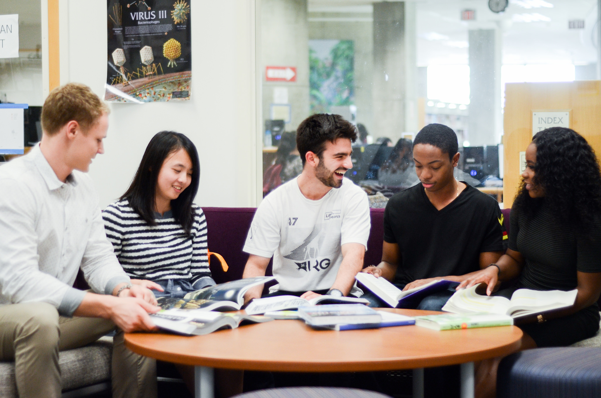 LRC group of international students