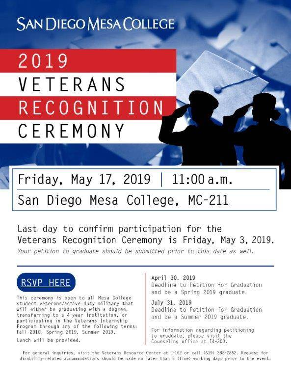 Veterans Recognition Ceremony